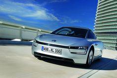 super futuristický auto volkswagen XL1 :) :D :o