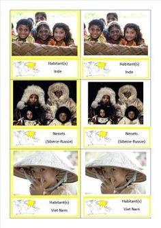 cartes nomenclature peuples asie