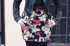 Jupe/skirt JCDC #fashion #Minnie  | Fashion blog Hey Dick Face on Spritzi.com
