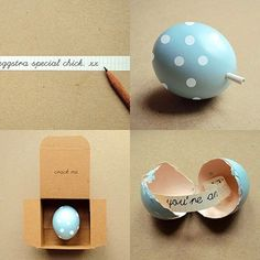 Easter Egg Love Note | 37 Adorable And Unexpected Easter EggDIYs