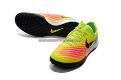 check out bc8d9 b0e70 best nike mens magistax finale ii tf soccer football shoes green pink black  f1229 be944