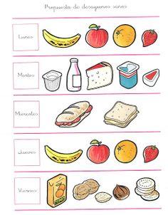 ¡¡ Aprende a Sonreír !!: Propuesta de desayunos sanos