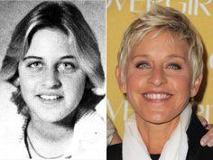 Ellen DeGeneresPictured during her junior year in 1975, talk-show host Ellen DeGeneres was commanding the tennis court at Atlanta High School in Atlanta, Tex., years before she was commanding the stage!