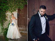 """Πάρτε μία γεύση από έναν πιο """"βασιλικό"""" γάμο που δεν βλέπουμε κάθε μέρα. Το χρώμα του royal blue """"αγκάλιαζε"""" όμορφα τον χώρο της τελετής του γάμου."""