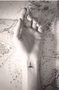 My sailboat tattoo!