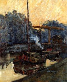 A Barge Kees Van Dongen