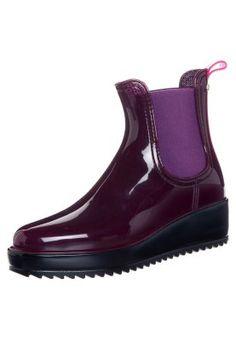 JELO - Rubber boots - purple
