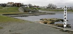 The Clover Point sewage outfall in Victoria, B.C. - National Post July 23, 2012