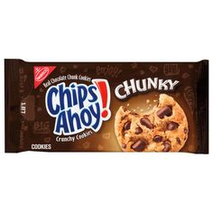 Chunky Chocolate Chip Cookies, Big Chocolate, Chocolate Chips, Milka Chocolate, Chocolate Fudge, Chocolate Lovers, Chips Ahoy Cookies, Yummy Cookies, Makeup Products
