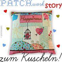 PATCHwork STORY zum Kuscheln ♥ Stickdateien IN THE HOOP - ginihouse3, EUR 8.99