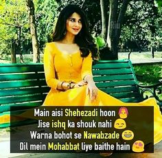 Whatsapp DP For Girls Collection 2 Cute Quotes For Girls, Crazy Girl Quotes, Cute Love Quotes, Crazy Girls, Girly Quotes, Girls Be Like, Attitude Quotes For Girls, Girl Attitude, Maya Quotes