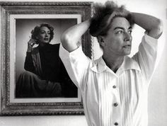 Joan Crawford at home, 1959  Eve Arnold