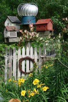 Terrific turbine transformations,…for the garden! | Flea Market Gardening