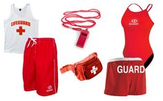 Lifeguard costumes for couples