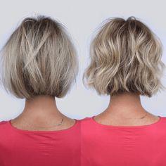 4 Cutting Tips For Bobs & Lobs Choppy Bob Hairstyles, Short Bob Haircuts, Textured Bob Hairstyles, Layered Haircuts, Short Blunt Haircut, Short Blunt Bob, Lob Haircut, Modern Haircuts, Casual Hairstyles