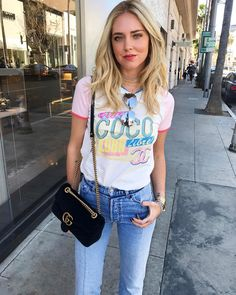 "22.3 mil Me gusta, 127 comentarios - Chiara Ferragni (@chiaraferragni) en Instagram: ""Friday March 31st in Beverly Hills #AmericanDays"""