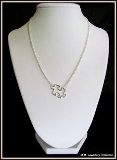 Autism Awareness Necklace...I must have this!