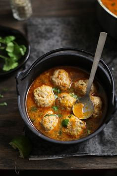 Mutton Meatball Soup, Sinfully Spicy