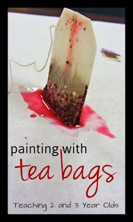 Here's a fun, simple activity your children can do at home with a tea bag and some paper!