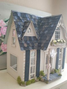 dream cottage dollhouse by cinderellamoments, via Flickr Love this version of a Greenleaf Orchid!