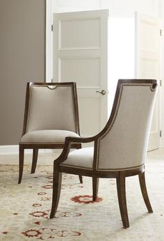 baker furniture : signature dining arm chair - 3645 : chairs