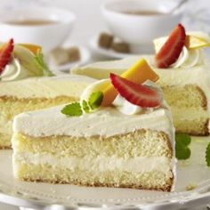 Multivitamintorte Vanilla Cake, Cheesecake, Desserts, Food, Vanilla Sponge Cake, Meal, Cheesecakes, Deserts, Essen