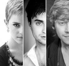 the three; brightest witch of her age, the boy who lived, the king.