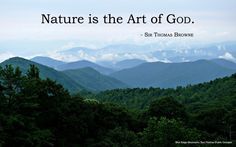 Art And Nature Quote 1. Picture Quotes.