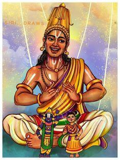 Cute Krishna, Krishna Art, Figure Painting, Painting & Drawing, Pineapple Drawing, Happy Ganesh Chaturthi Images, Sai Baba Photos, Krishna Painting, Hindu Art