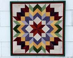 Pallet Wood Mosaic Barn Quilt Handmade by GoodRiddanceFarm on Etsy