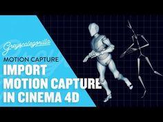 Cinema 4D Tutorial - Import Motion Capture Data Into Cinema 4D - YouTube