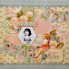 ♥ - LoVe this - ♡ - Scrapbook layout