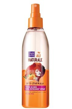 AOneBeauty.com - Dark and Lovely Au Naturale Anti-Shrinkage Curl Refresher Spray (8.5 oz), $12.49 (http://www.aonebeauty.com/dark-and-lovely-au-naturale-anti-shrinkage-curl-refresher-spray-8-5-oz/)