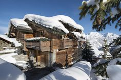 Chalet Pearl with jaw-dropping mountain views --- (Homeview photo #2 -- at winter time)