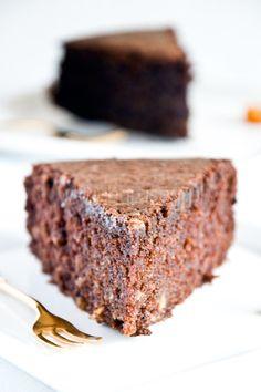 Ciasto czekoladowe z oliwą, bez glutenu i mleka