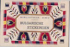 Bibliothek D.M.C. - Bulgarische Stickereien-Editions Th. de Dillmont,Mülhausen   eBay