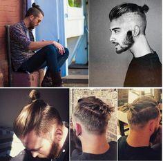 Já conhece a moda do coque masculino ou man bun? Veja aqui! #penteados #manbun #undercut