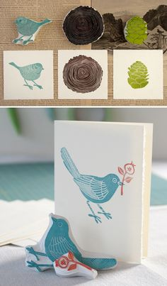 ummm.... lets make these. handmade stamps. @Kelly Teske Goldsworthy Teske Goldsworthy Larson Floral Studio
