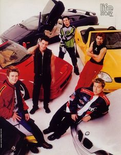 For some reason, they were all REALLY bad at parking. | 48 Reasons Why The World Desperately Needed An NSYNC Reunion