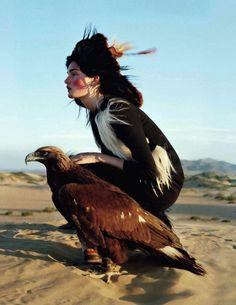 Woman Eagle.
