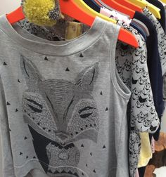 New UK label Mr Wolf has strong self designed graphics and a unisex feel for kids fashion summer 2016