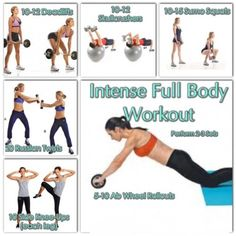 Intense Full Body Workout Are you ready to change your body once and for all? do you want to lose weight quickly and effectively? Well if you are, you're at the right place...