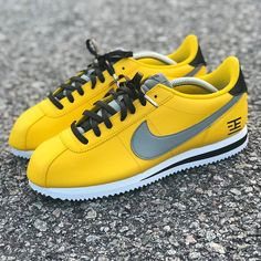 Behind The Scenes By wavykickfitz Nike Cortez Shoes, Nike Shoes, Sneakers Nike, Nike Classic Cortez Leather, Behind The Scenes, Custom Sneakers, Nba Fashion, Mens Fashion, Swagg