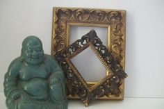 Two Gold Picture/Display Vintage Frames by 4EnvisioningVintage, $22.00