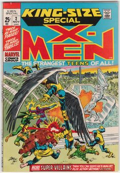 X-Men King Size Special #2 VF/NM-, Reprints from X-Men #22 & 23. $82
