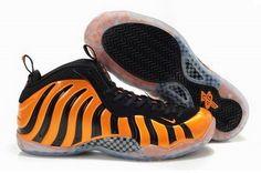 Nike Air Foamposite One by Jonathan Carrington Orange Black