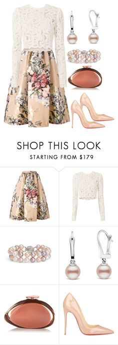 """""""Easter fashion...."""" by used2bnewvintage ❤ liked on Polyvore featuring Fendi, A.L.C., Blue Nile, Benedetta Bruzziches and Christian Louboutin"""