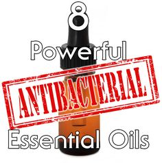 8 Powerful Antibacterial Essential Oils. Find out what research says about essential oils and bacteria. Studies have shown these oils fight Staph and MRSA!