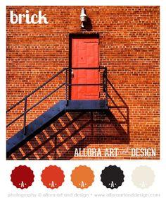 brick   color palette :::::::::::::::::::::::::::::::::::::::::::::::: #alloraartanddesign #color #colorpalette #colorscheme #graphicdesign #beach