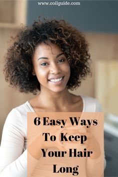 Easy ways to retain length. How to grow your hair the lazy way. Lazy ways to grow long hair. Natural Hair Growth Tips, Natural Hair Regimen, How To Grow Natural Hair, Long Natural Hair, Grow Long Hair, Natural Hair Journey, Natural Hair Styles, Afro Hair Care, How To Grow Your Hair Faster